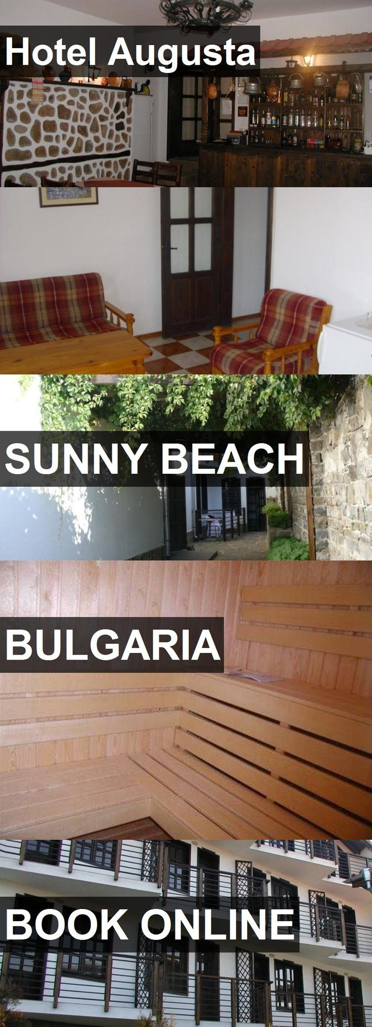 Hotel Hotel Augusta in Sunny Beach, Bulgaria. For more information, photos, reviews and best prices please follow the link. #Bulgaria #SunnyBeach #HotelAugusta #hotel #travel #vacation