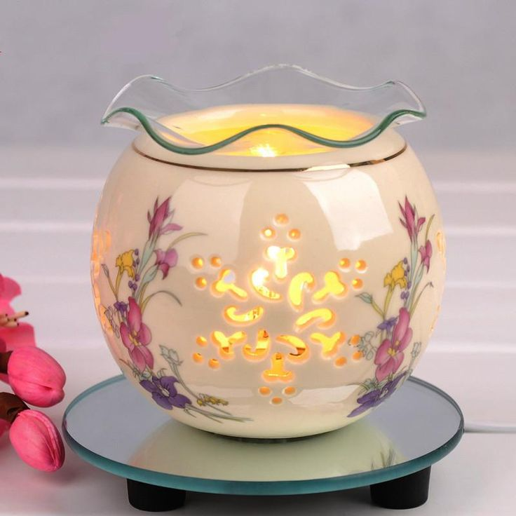Ceramic Electric Fragrance Diffuser for Essential Oils used for Aromatherapy or SPA