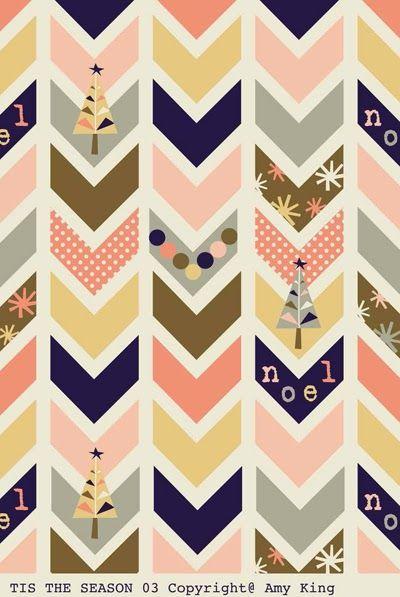 print & pattern: CHRISTMAS FABRIC - amy king