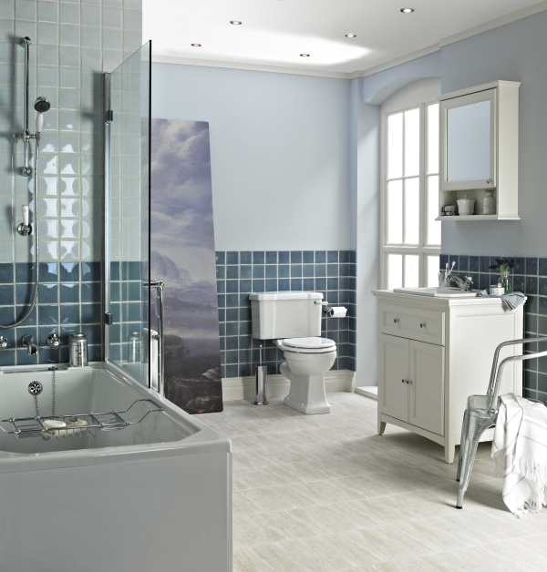 Reinvent the traditional Victorian bathroom by adding subtle twists and turns to our Savoy™ Old English collection.