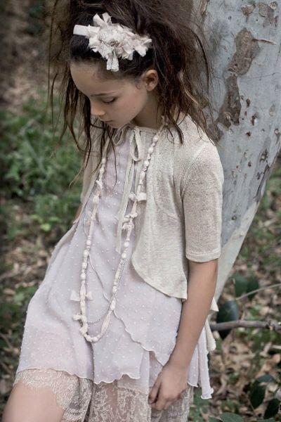 Vestidos de ceremonia para niñas de Rubio Kids by Hortensia Maeso #flowergirl #pajes #tendenciasdebodas