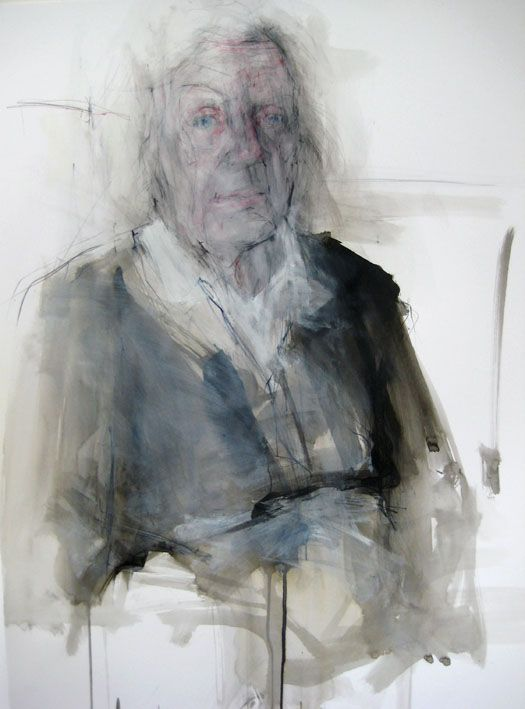 Ginny Grayson, Mum, 82, 2009. Ink, pencil, and gesso on paper.
