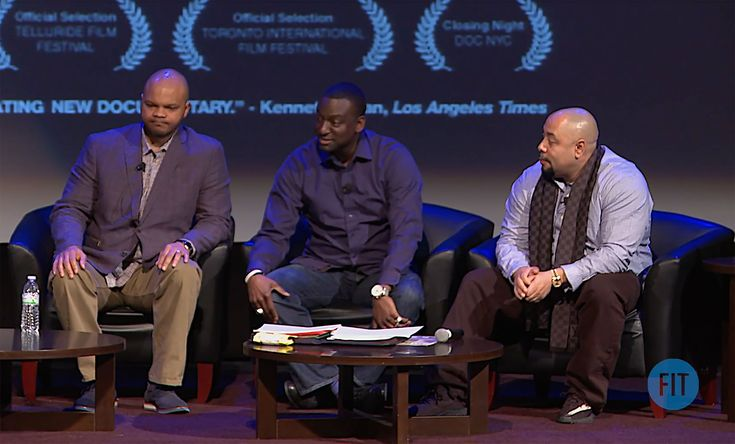 Three members of the Central Park Five spoke at the Fashion Institute of Technology in Manhattan on Wednesday, February 15th.