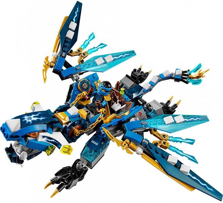 LEGO NINJAGO Jay's Blauwe Draak 70602 - De leukste LEGO bestel je online op https://www.olgo.nl