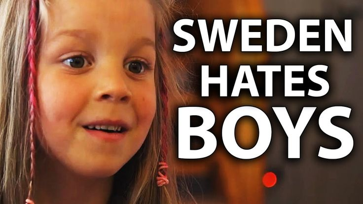 Sweden's Feminizing Boys with Genderless Schools - YouTube