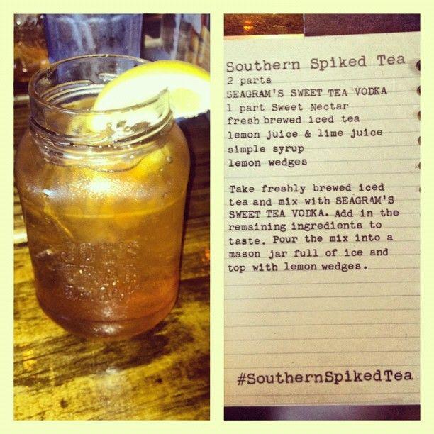 Joe's Crab Shack Southern Spiked Tea. Love this!!