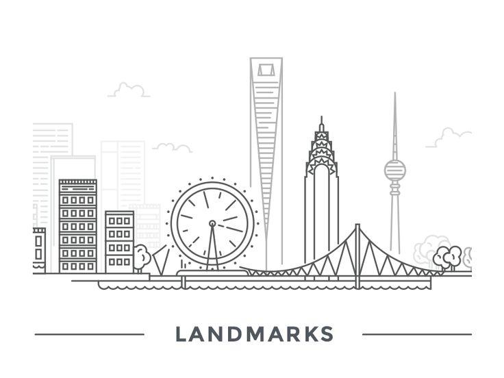 Landmarks by erkan kerti
