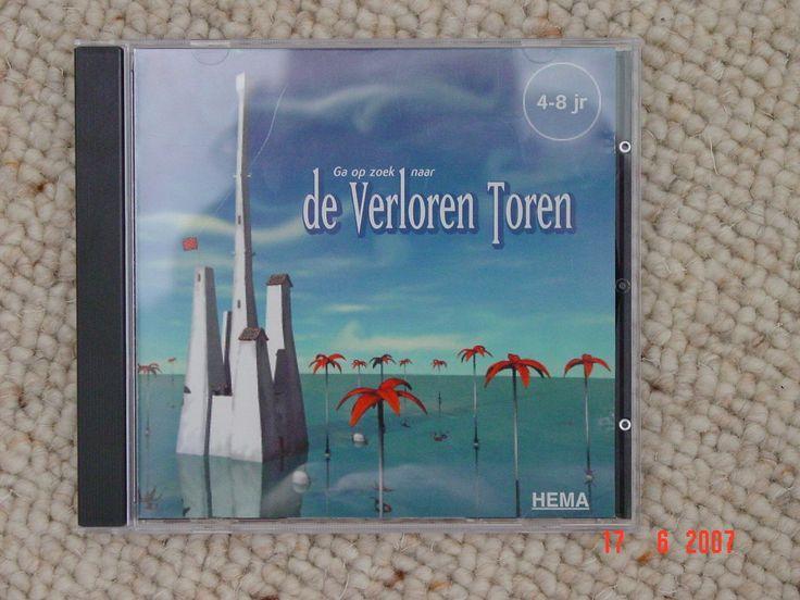 De verloren toren geschikt voor 4-8 jaar, leerzame cd-rom - (Windows '98) - 1,00 € -
