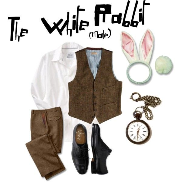 [: The male costume of The White rabbit for Alice in Wonderland. i'm going to…