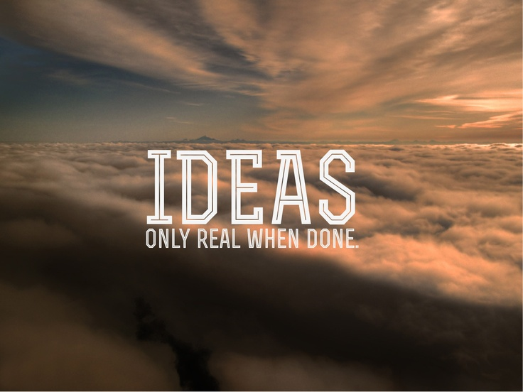 The truth about ideas