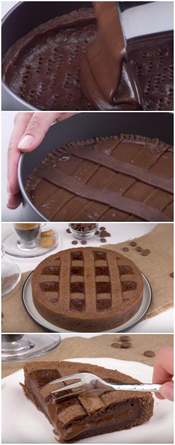 Torta Mousse de Chocolate: a mais cremosa e mais gostosa! #torta #sobremesa #moussedechocolate #tortademousse