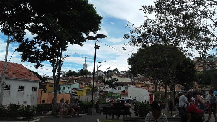 Cidade saudável: a relação entre planejamento urbano e saúde pública,Praça do Coreto, São Luís do Paraitinga/SP. Image © Bárbara Bonetto