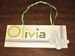 Craft: Wooden Name Plate - Homeschool - Families.com