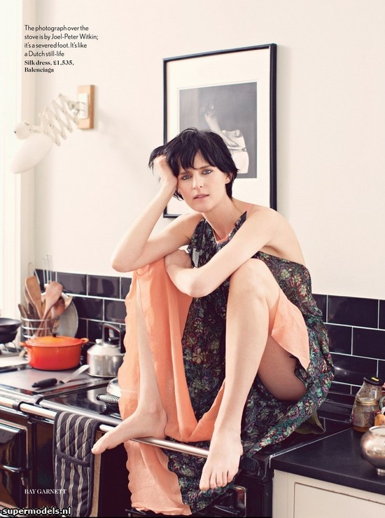 Supermodels.nl Industry News - Stella Tennant in 'Border Crossing'...