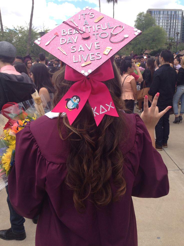 Mortar board, graduation cap, medical, class of 2015, Grey's anatomy