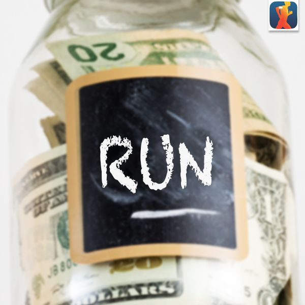 Motivation Tip: Every mile you run, put a dollar in a jar. Set a mileage goal, and then buy yourself new running shoes with your jar money! #Motivation #RunnerTip