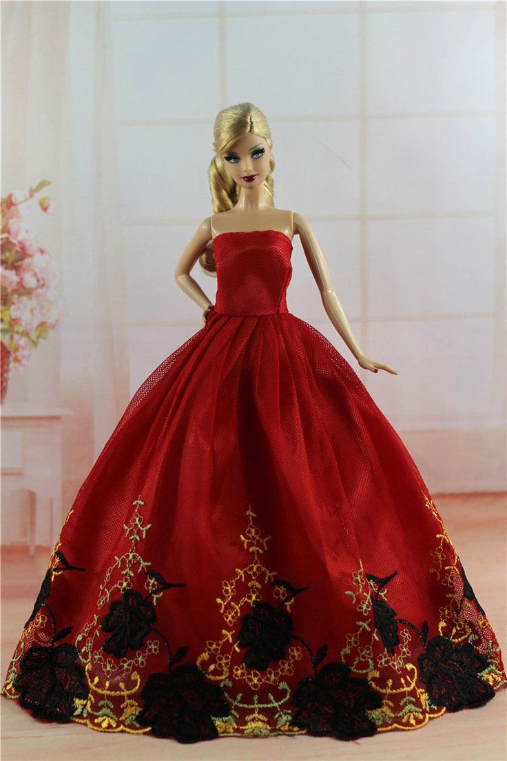Fashion Princess Party Dress Evening Clothes Gown for Barbie Doll S320 | eBay