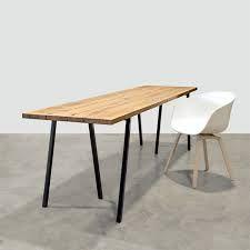 bureau zwarte poten hout - 871 euro, 240 x 80 cm