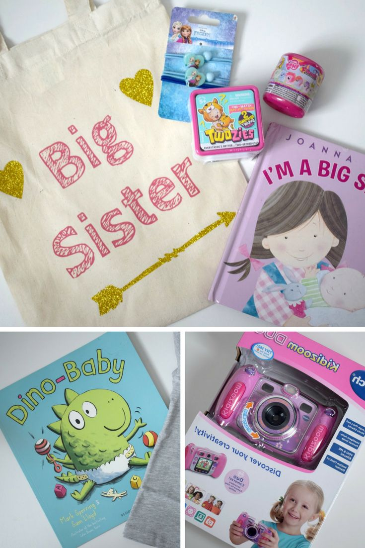 It's so important to me that Emily has felt involved in this pregnancy. The other thing that we are doing is putting together a big sister bag. It will be waiting for her when she arrives at the hospital to meet her little sister and will be her little present from the baby. I know that this isn't for everyone, some people think that it is silly to get the sibling a present - but I disagree.