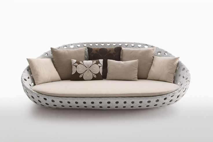 Canasta Circular Sofa by Patricia Urquiola for B&B Italia | Space Furniture