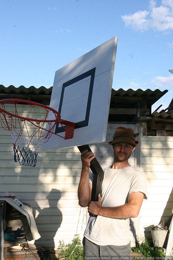Баскетбольный щит своими руками баскетбольное кольцо Проект Made of Metal