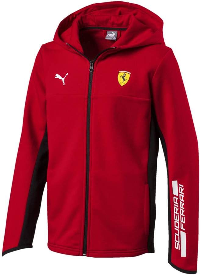 9d5fb7ddfa822 Scuderia Ferrari Boys' Hooded Sweat Jacket JR in 2019 | Products ...