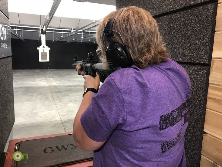 Stacy Bright heads to the range and reviews the The Well Armed Woman's DI-ADEM AR-15 by LWRCI. Sponsored by Liberty Safe.