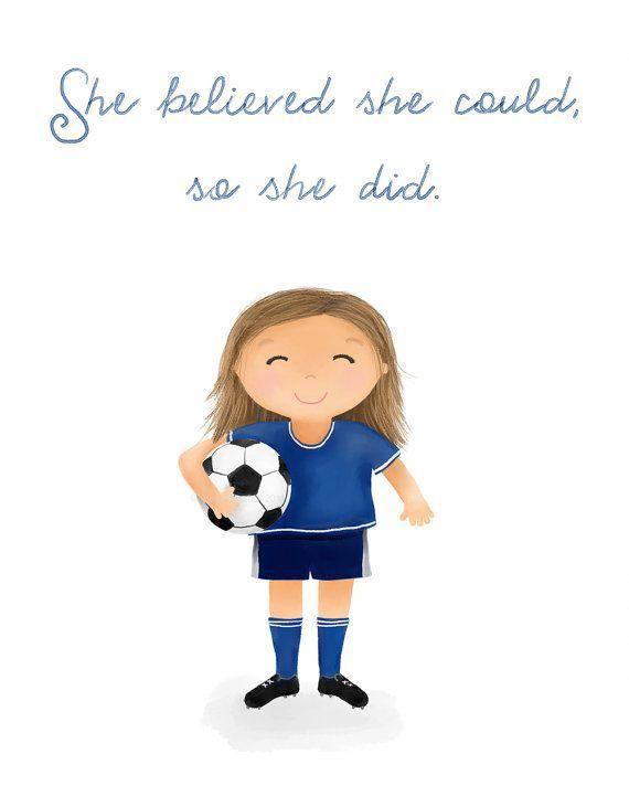 Banderas De Futbol Frases Argentina In 2020 Children S Art Print Little Girl Quotes Soccer Girl