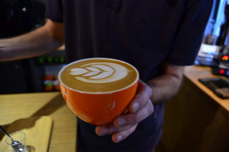 with all the barista's care and passion, the every day latte.