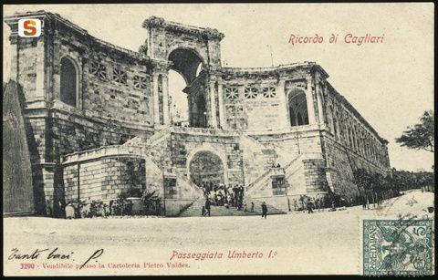 Cagliari, bastione Saint Remy