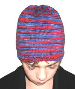 Free 4ply Beanie Hat Knitting Pattern