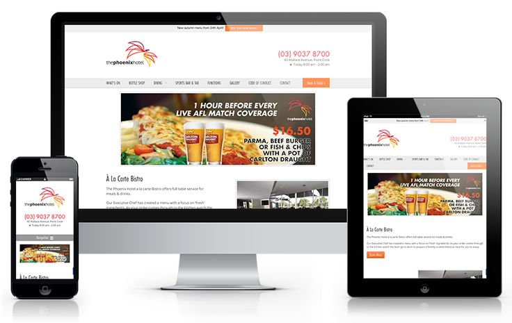 The Phoenix Hotel approached us to build their website to showcase the new venue and increase the number of patrons that visit for events, bistro dining and bottle shop purchases. An ongoing strategy was required to maintain the content of the website to match upcoming events and grow the online reach and…