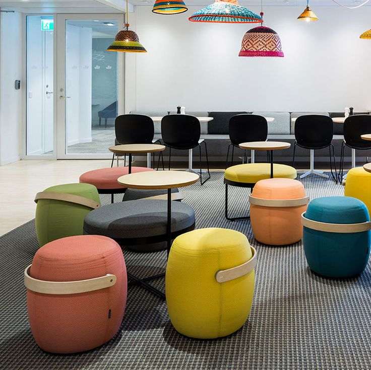 Get inspired by some of the projects set up in collaboration with Scandinavian Business Seating. Here you will find a selection of some of our projects and cases.