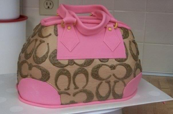 Images Of Coach Purse Cakes