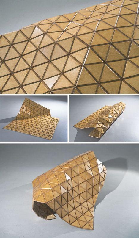 Woodskin: Flexible Hybrid Material Makes Wood Modular
