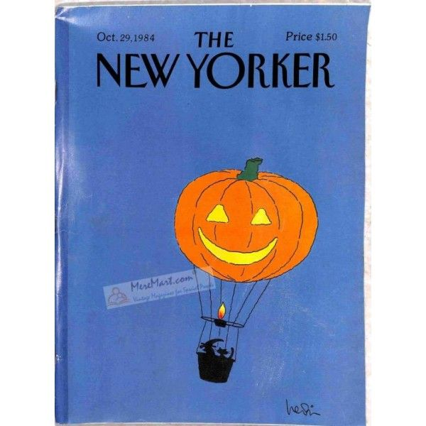 Cover Print of The New Yorker, October 29 1984 | $4.72