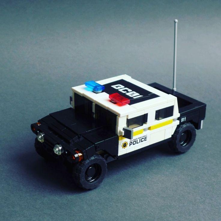 Marcus Paul Auf Instagram Hummer H1 Super Secret Police Swat Lego Brickstag Lego Police Lego Truck Lego Cars Instructions