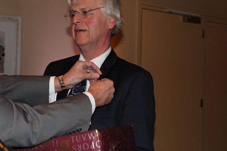 Hans Verschoor werd in het verslagjaar benoemd tot lid van verdienste van onze vereniging NOA, vanwege zijn grote verdiensten voor het onderwijs in onze afbouwsectoren.
