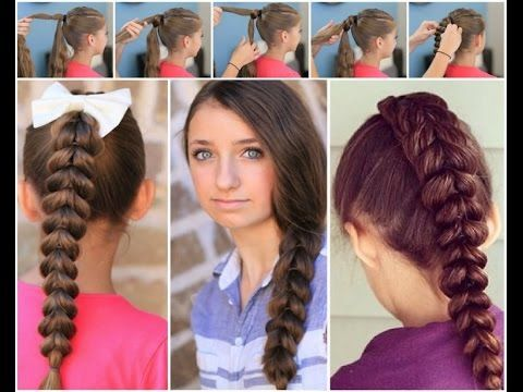 How to make hairstyles for school -- easy hairstyles to do yourself ...
