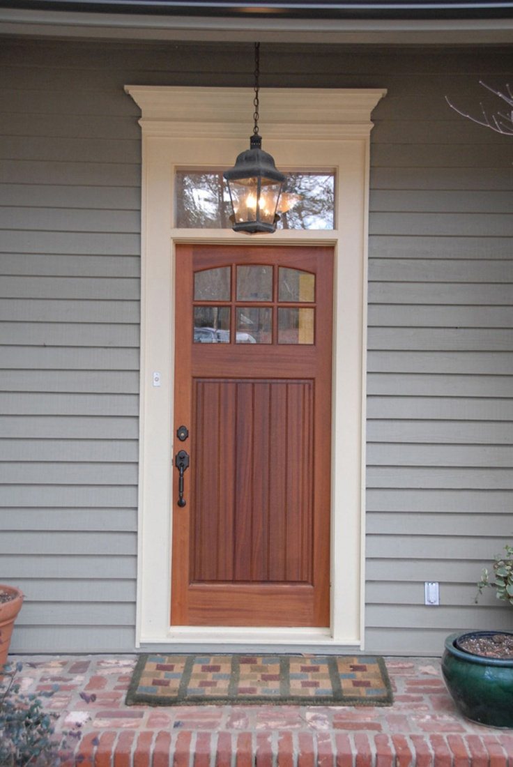 11 best fronts doors images on pinterest craftsman front for Transom windows exterior