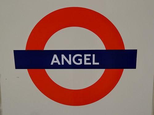 Angel London Underground Station in Islington, Greater London