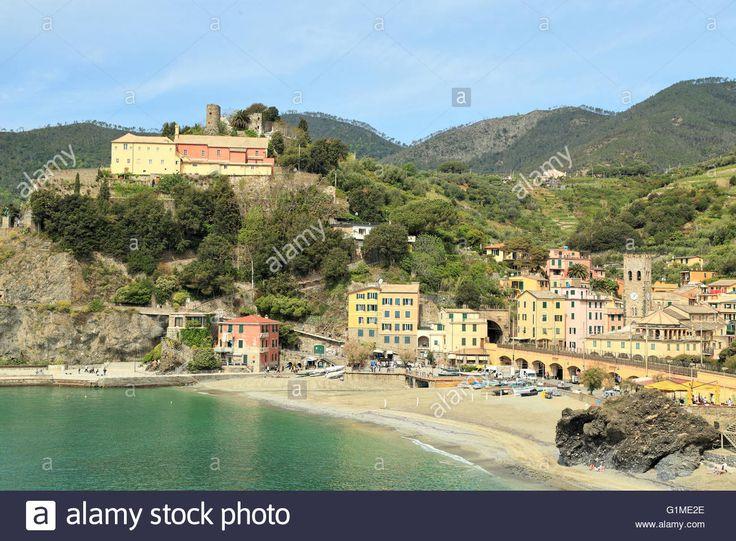 Monterosso Al Mare, Cinque Terre, Liguria, Italy Stock Photo, Royalty Free…