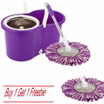 Good Shop Home Living Brooms, Mops Sweepers 360 Rotating Magic Floor SpinningMicrofiber Spinning Anti-Odor Mold Replacement Mop Head Mop Head (Purple White )[Buy 1 Get 1 Freebie]Order in good conditions Home Living Brooms, Mops Sweepers 360 Rotating Magic Floor SpinningMicrofiber Spinning Anti-Odor Mold Replacement Mop Head Mop Head (Purple White )[Buy 1 Get 1 Freebie] Before OE702HLAAXJZIWANMY-72779155 Laundry & Cleaning Cleaning Brooms, Mops & Sweepers OEM Home Living Brooms, Mops Sweepers…