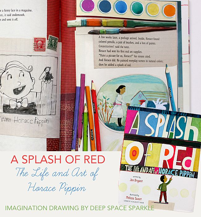 A Splash of Red: The Life and Art of Horace Pippin Art project by Deep Space Sparkle