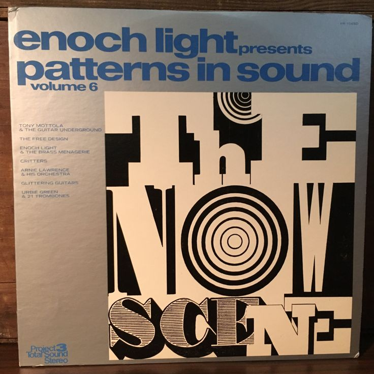Patterns in Sound Volume 6 Vinyl LP 1969 Project 3 Total Sound Records The Free Design Enoch Light Presents Jazz Easy Listening by vintagebaron on Etsy