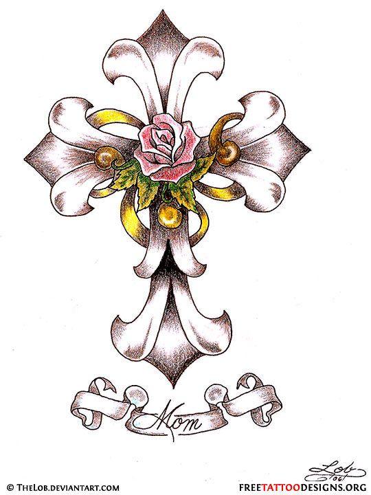 17 best ideas about tribal cross tattoos on pinterest