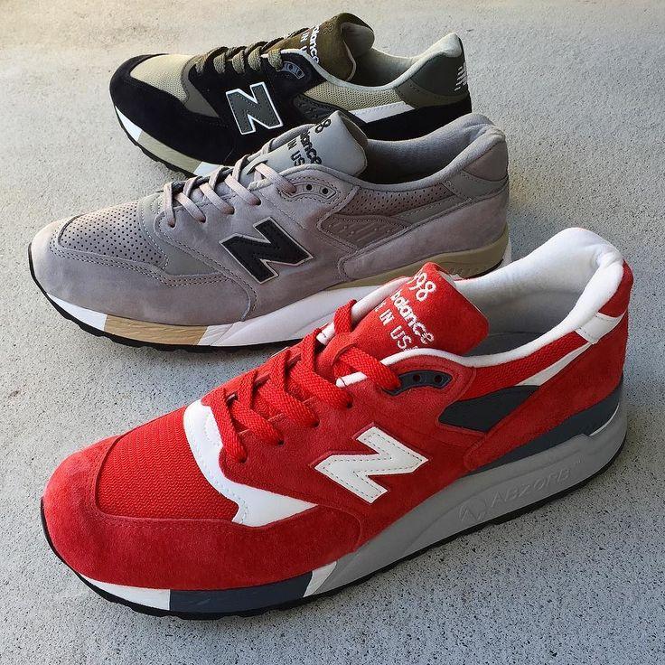 NEWBALANCE998 MADE IN USAシリーズ入荷 #newbalance #m998 #ニューバランス #ニューバランス996 #ニューバランスUSA #ニューバランス赤 #shoegetweb