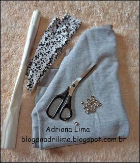 Adriana Lima: Faça você mesma: Moletom customizado