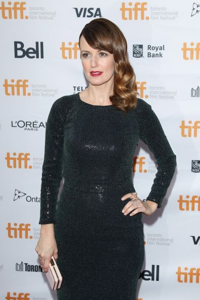 Rosemarie Dewitt 'Men, Women, and Children' premiere at the 2014 Toronto Film Festival. Hair by Sarah Potempa. Styled by Karla Welch.