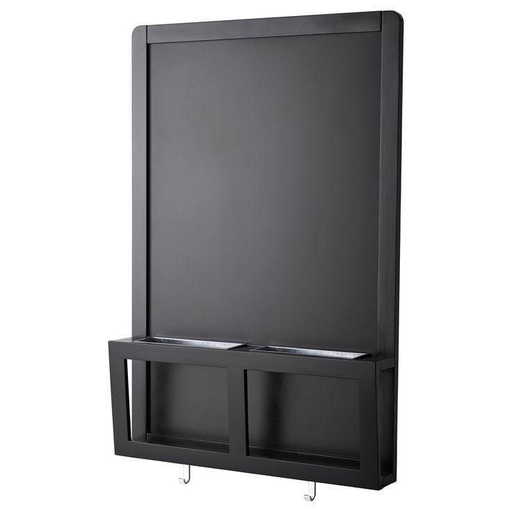 IKEA - LUNS, Lavagna magnetica, Ideale per le chiavi, il cellulare e la posta.Puoi sia scrivere messaggi con il gesso che usare le calamite sulla lavagna.